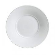 Тарелка мелкая с широк.бортом «Аура», D=16см