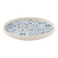 Тарелка закусочная (синяя) CASADECOR без инд.упаковки
