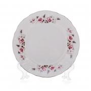 Набор тарелок 17 см. 6 шт «Роза серая платина 5396021»