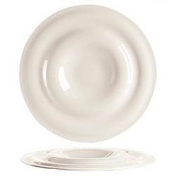 Тарелка «Дивинити», фарфор, D=31,H=3см, белый