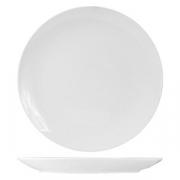 Тарелка мелкая без борта «Кунстверк», фарфор, D=18см, белый