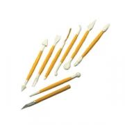 Набор ножей для марципана [8шт], пластик