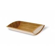 Сервировочная корзина для хлеба Legnoart 30 x 21 x 7см (зебрано)