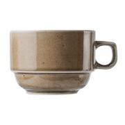Чашка чайная «Кантри Стайл», фарфор, 230мл, D=85,H=60мм, зелен.