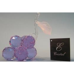 Гроздь винограда лилово-голубой d30-7 12х11см