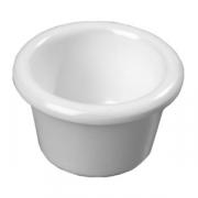 Соусник; пластик; 45мл; D=6,H=4см; белый