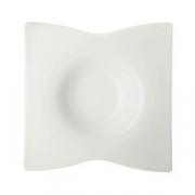 Тарелка для пасты «Одас», фарфор, H=60,L=275,B=275мм, белый