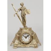 Часы «Фемида» мал. золотистый