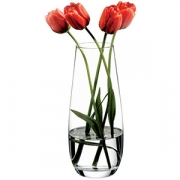 Ваза для цветов «Ботаника» H=26см; прозр.