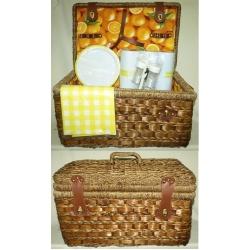 Набор для пикника на 6 персон (апельсин)