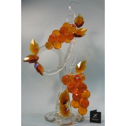 Композиция грозди винограда топаз 60 см