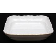 Салатник квадратный J 25 см «Бернадот белый 311011»