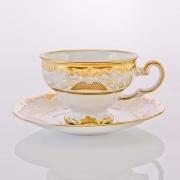 Набор чайный 210 мл. на 6 перс. 12 пред. подарочный «Симфония Золотая»