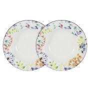 Набор из 2-х суповых тарелок Акварель