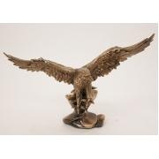 Орел большой каштан41 см.