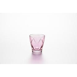 Набор стаканов «Джой» 4 шт 270 мл, цвет: фуксия