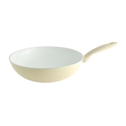 Сковорода-вок Fissler, белая