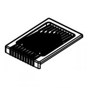 Поддон-решетка к соковыж.7010424; пластик; H=15,L=115,B=90мм; черный