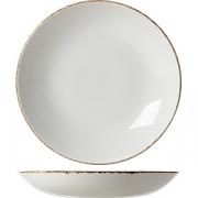 Тарелка пирожковая «Браун дэппл» D=15см; белый, коричнев.
