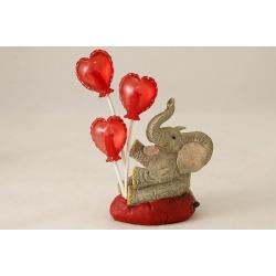 Статуэтка «Слоник с шариками»