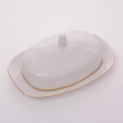 Масленка 21*12 см «Бернадот белый 311011» 2 пред.