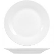 Тарелка мелкая «Коллаж» D=20, H=2.2см; белый