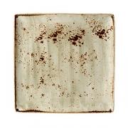 Блюдо квадр. «Крафт» 27*27см фарфор