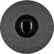 Тарелка с широк. краем «Солид» D=30.3см; серый, белый