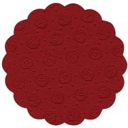Настол. подкладки 9-слойные [20шт] D=9см; бордо
