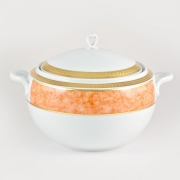 Супница 3л с крышкой «Персиковый»