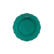 Тарелка суповая Аральдо (бирюзовый)