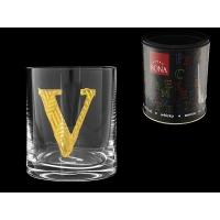 Стакан для виски (1 шт) Азбука Буква «V»