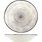 Тарелка глубокая «Пастораль» D=23см; серый