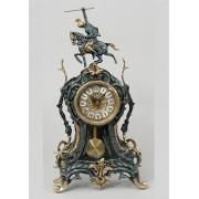Часы «Всадник» с маятником синий 45х23 см.
