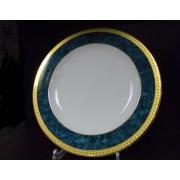 Набор 6 тарелок подст. 27см «Малахит»