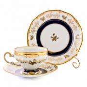 Набор чайный 210 мл. на 6 перс. 18 пред. «Анна Амалия» подарочный