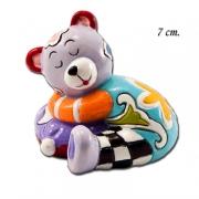 Статуэтка 7 см Спящий мишка