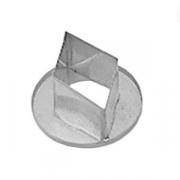 Резак «Ромб»; сталь нерж.; D=5см