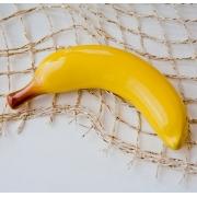 Декоративный фрукт «Банан» 18x6 см.