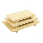 Блюдо «Киото-бамбук», бамбук, H=3,L=21,B=12см, бежев.