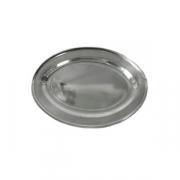 Блюдо овальное «Проотель», сталь нерж., H=28,L=620,B=430мм, металлич.