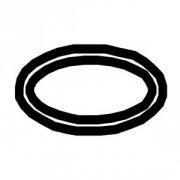 Прокладка для ремкомпл.для блендера 33; резина; D=13,H=1мм; черный