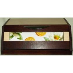 Хлебница «Апельсины и кувшинки»