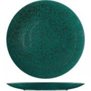 Тарелка мелкая «Лайфстиль» D=30см; бирюз.