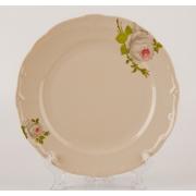 Набор тарелок 24 см. 6 шт. «Алвин бежевый»