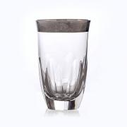 Набор стаканов 250 мл «Джесси платина»