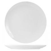 Тарелка мелкая без борта «Кунстверк», фарфор, D=20.5см, белый