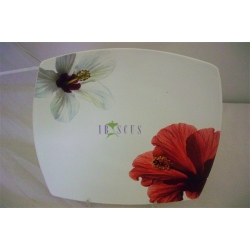 Обеденная тарелка «Гибискус»  27 см