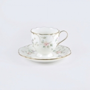 Набор 18пр. кофейный с круглыми тарелочками «Воспоминание»