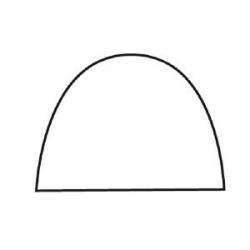 Форма конд. пластик 48*6.5см, h=7см